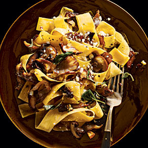 papardelle-with-mushrooms